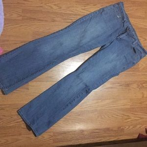 Old Navy white wash jeans